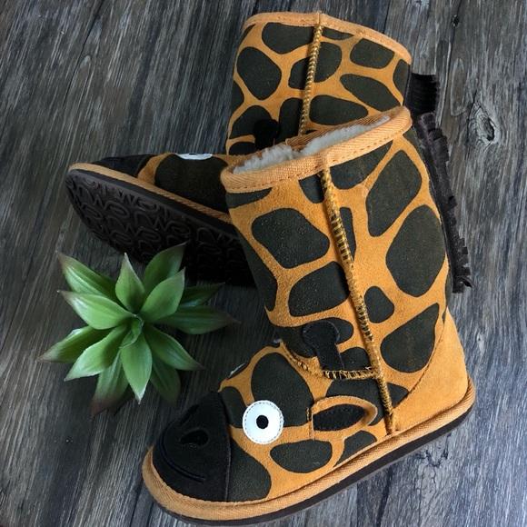 0e77f2c1bcc Emu Australia Little Creatures Giraffe Boot - Kids